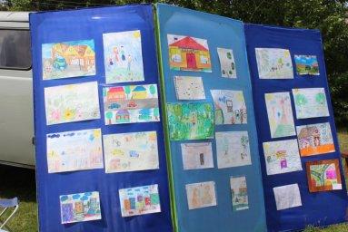 Конкурс на лучший рисунок о поселке