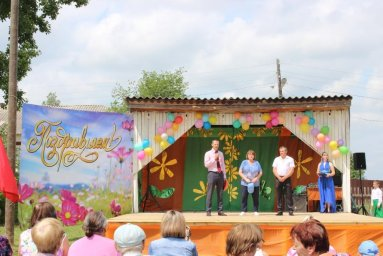 Поздравления заместителя главы района Соколовского К.А. и Усовой В.В.